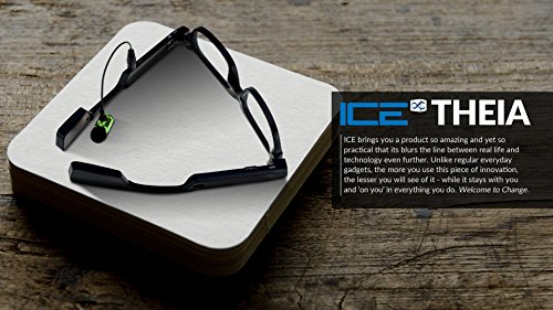 Ice Theia - Wearable Video Camera Glasses with Drive Safe As...