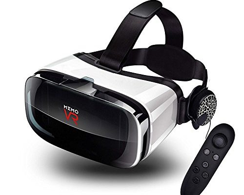 MEMO Virtual Reality Headset - With Remote Controller Immers...