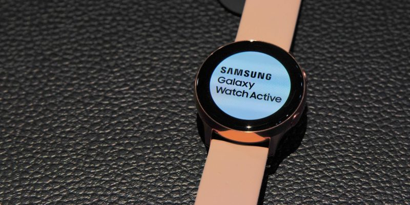 Galaxy Watch Active, and Galaxy Fit: A hands-on look at...