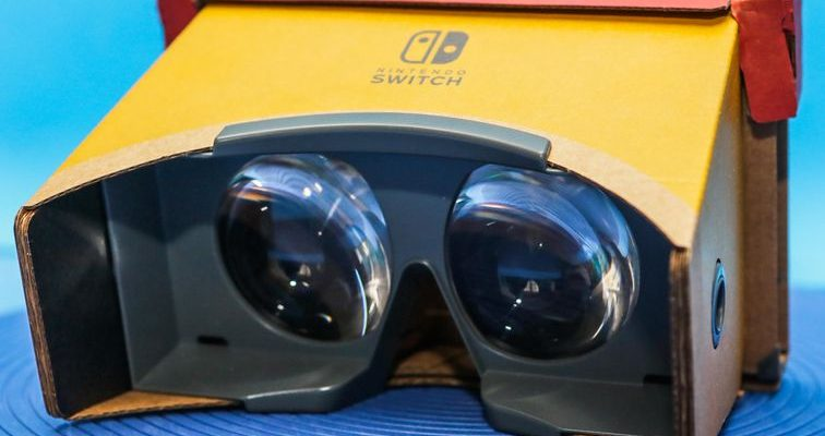 Nintendo Labo VR kit review: The Switch makes virtual m...