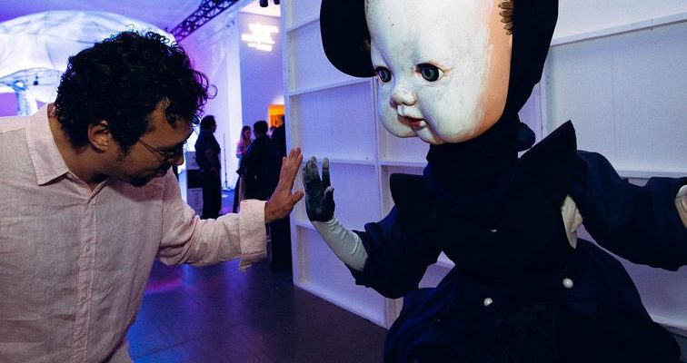 Tribeca Film Fest's VR mascot was a creepy living doll