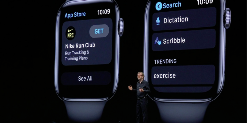 App store coming to Apple Watch - Video