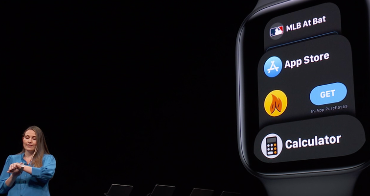 Apple Watch getting its own App Store