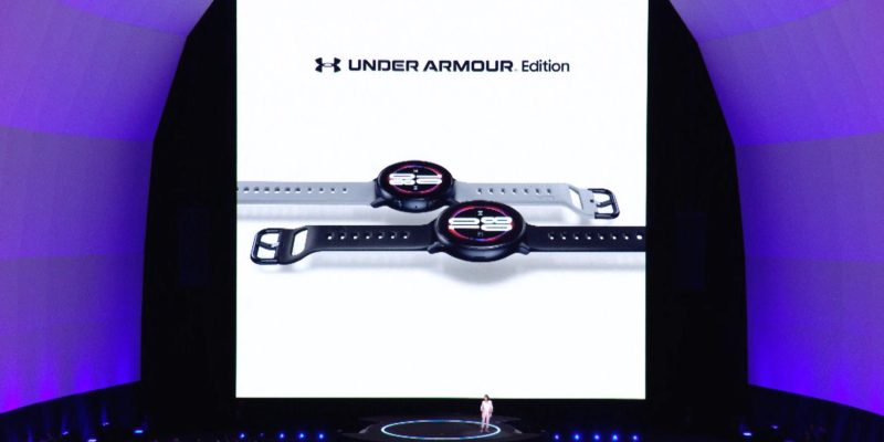 Samsung debuts Under Armour-branded Galaxy Watch Active...